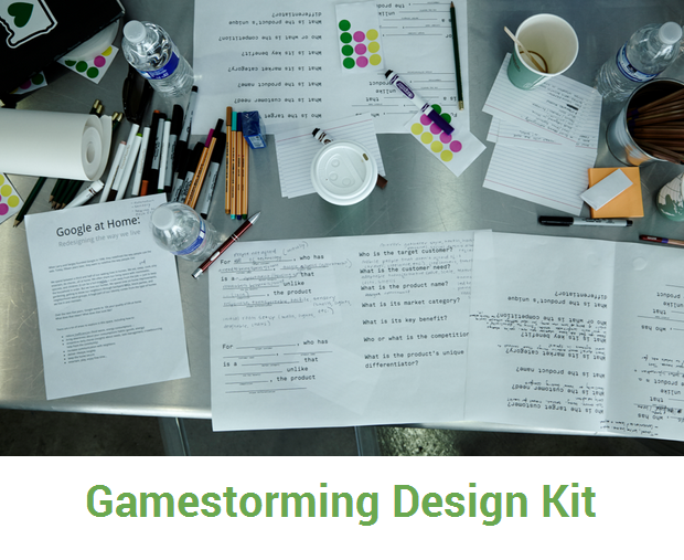 Gamestorming design kit