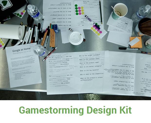 Gamestorming design kit