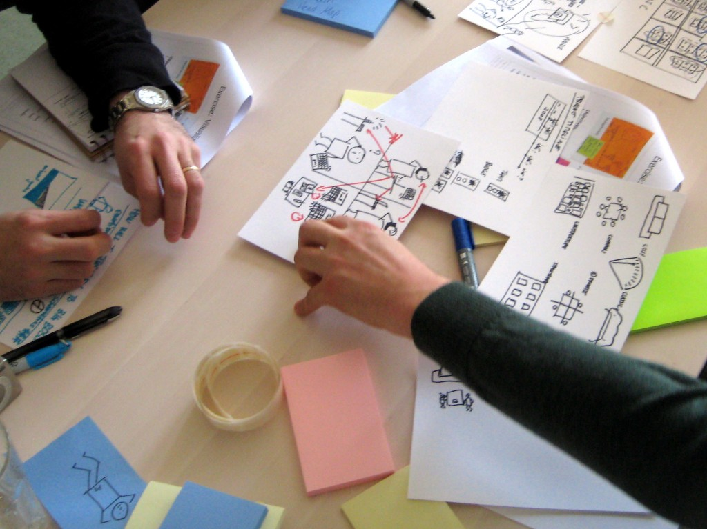 Gamestorming workshop in Geneva